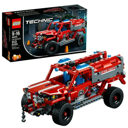 LEGO Technic First Responder 42075 Building Set (513 Pieces)