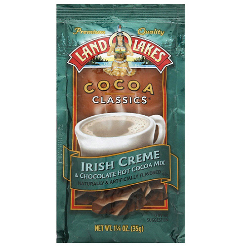 Land O Lakes Classic Chocolate And Irish Creme Cocoa, 1.25 oz (Pack of 12)