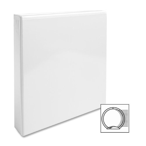 """Business Source Round-ring View Binder 1 1 2"""" Binder Capacity Letter 8 1 2"""" x 11"""" SHeet Size... by Business Source"""