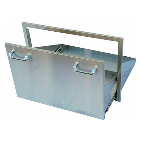 Fire And Ice Grill - Outdoor GreatRoom Stainless Steel Ice Chest Drawer