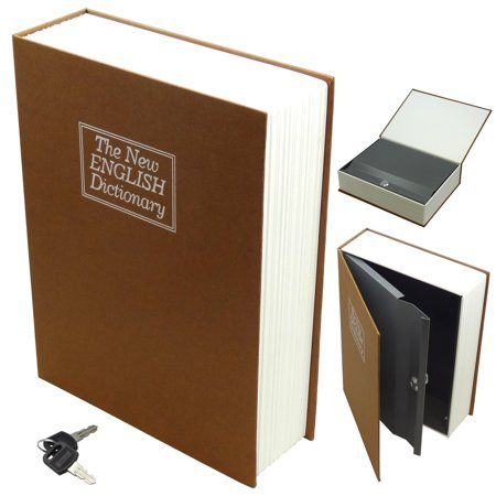 Secret Safe - Hidden Secret Book Safe Medium Brown