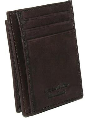 Paul & Taylor  Leather Front Pocket Credit Card ID Holder Wallet (Men's)
