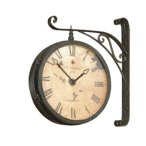 Bassett Mirror Victorian RR Wall Clock
