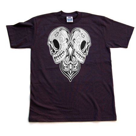 Day Of The Dead Items (Men's Day of the Dead Skeleton Head Cotton Shirt-)