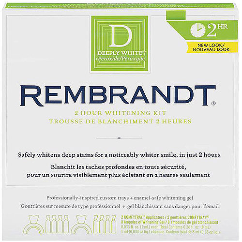 Rembrandt 2 Hour Teeth Whitening Kit # 1 Recommended.