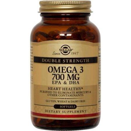 Double Force oméga-3 700 mg Solgar 120 Softgel