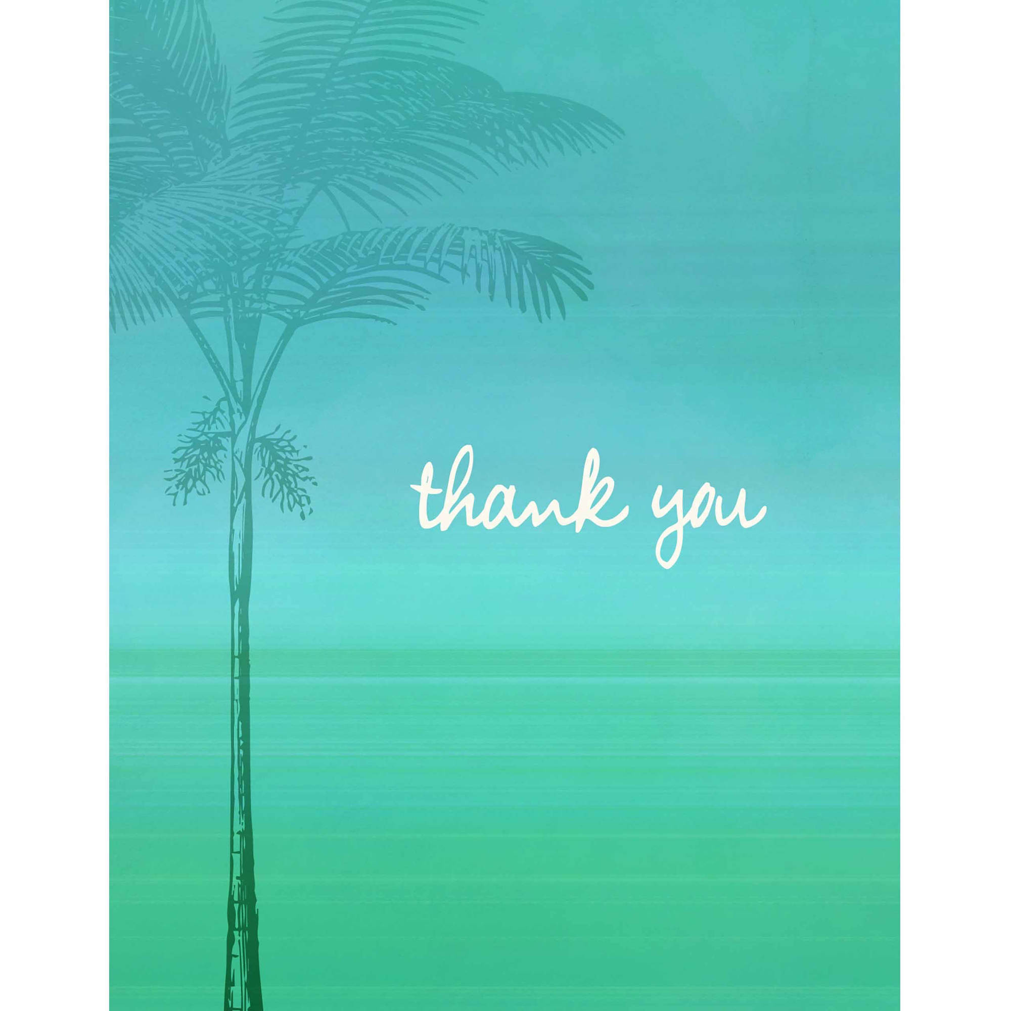 Tropical Oasis Standard Thank You