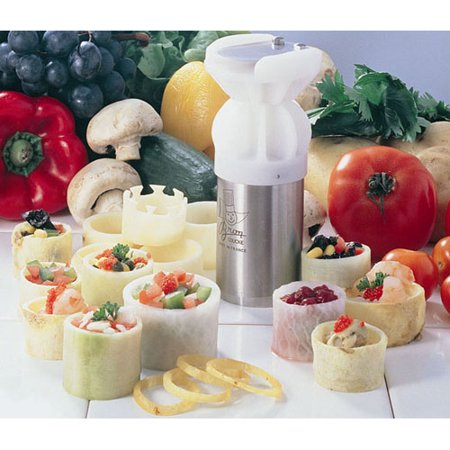 Bron Coucke Turn'Up Vegetable Garnisher - Makes 2