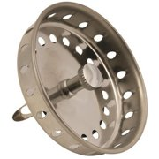 Hardware Express 2489382 Basket Strainer With Spring Closure, Stainless Steel