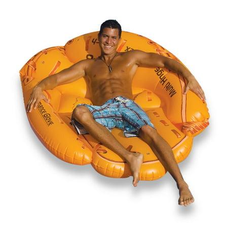 Swimline Giant Inflatable 62 Inch Baseball Glove Swimming Pool Float  