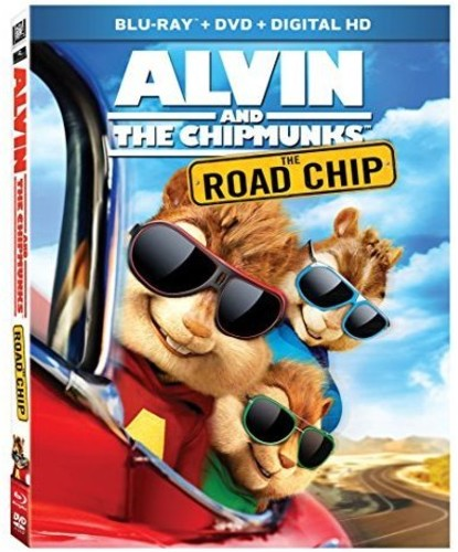 Alvin and the Chipmunks: The Road Chip (Blu-ray + DVD) by