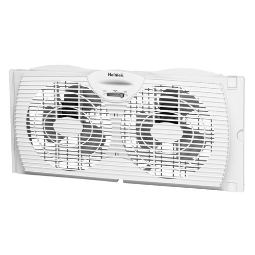 Holmes HAWF2021-WMUM Dual Blade Twin Window Fan