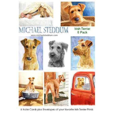 Irish Terrier 8 Pack Note Card