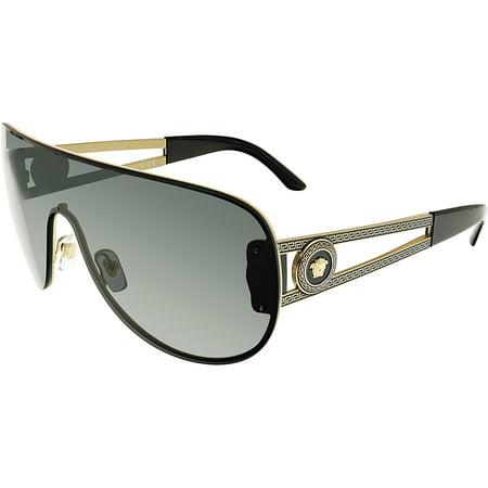 91724e46261cf Versace - Versace Women s VE2166-125287-41 Black Wrap Sunglasses -  Walmart.com