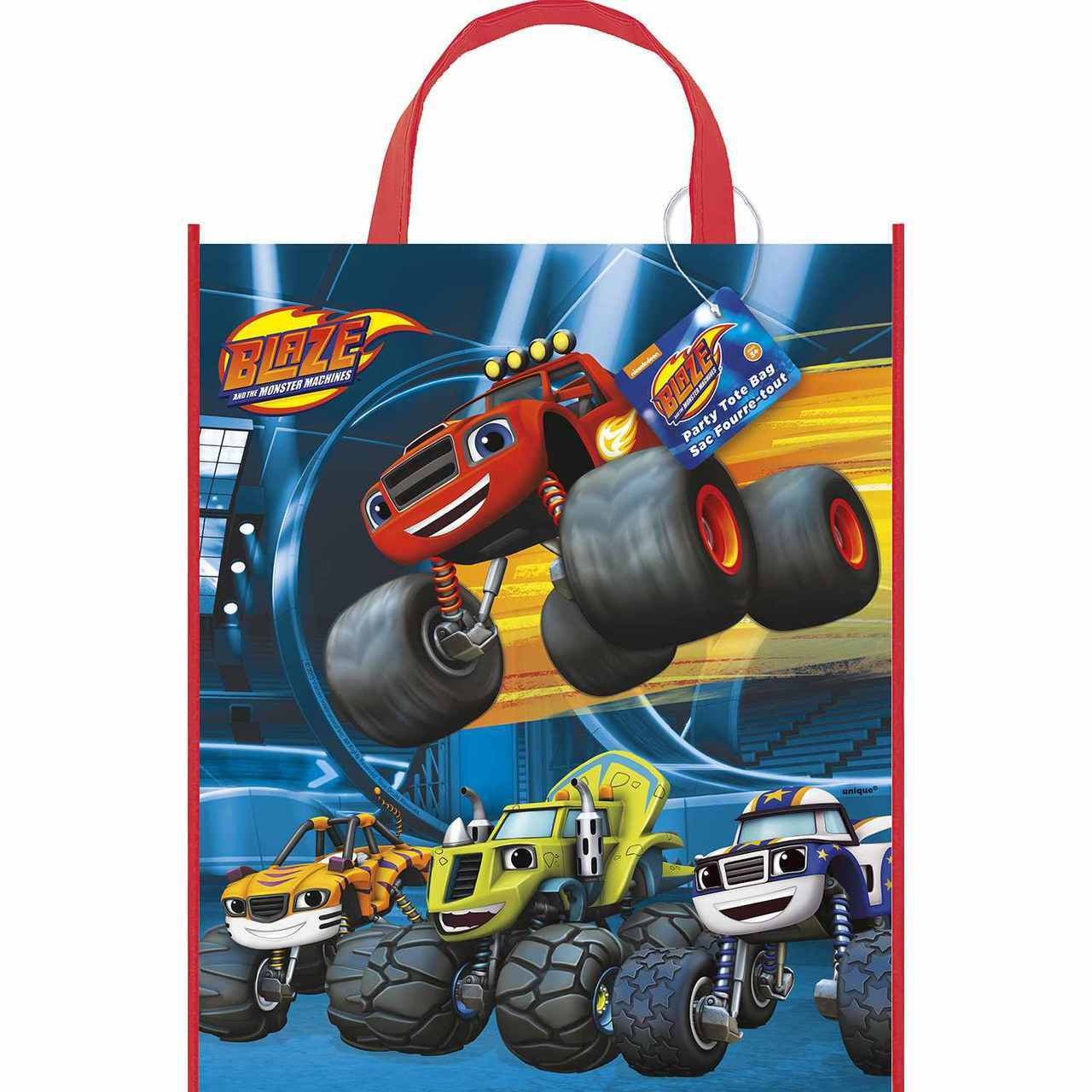Blaze and the Monster Machines Party Tote Bag - image 1 of 1