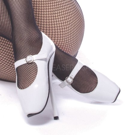 High Heeled Mary Jane Shoes (Ballet-08, 7'' Spike Heel Mary Jane)