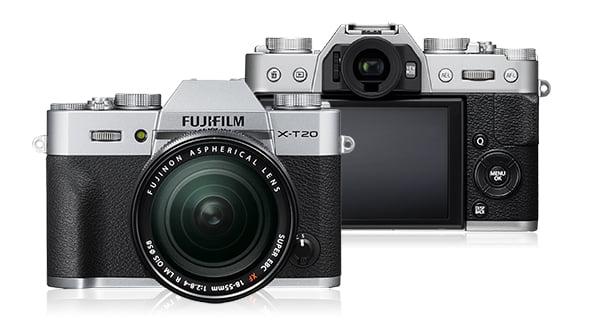 X-T20 Silver Kit w  18-55 mm Lens by Fujifilm