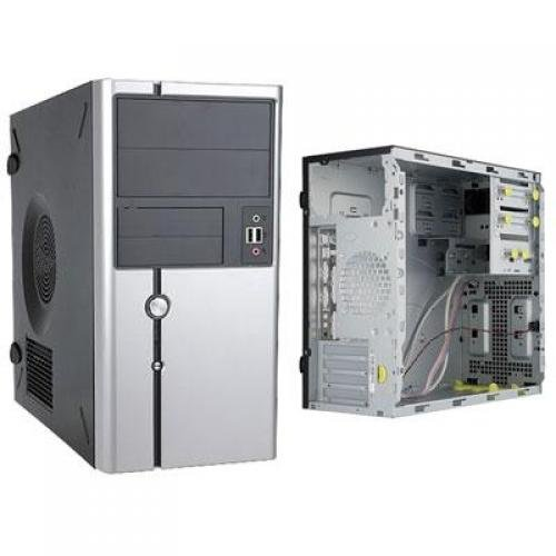 Inwin Development IW-Z611T.CQ350TSL mATX Case, IP-S350CQ2, FN,U+HD