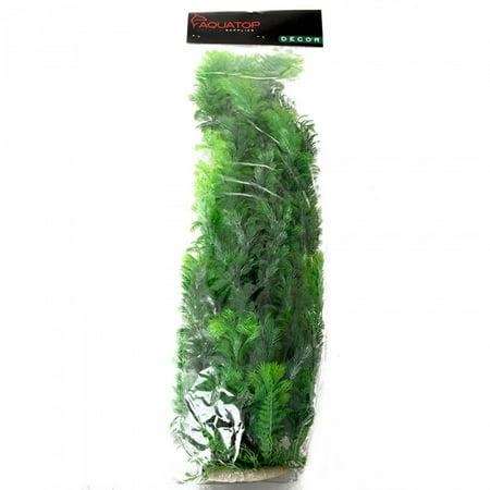 Aquatop Aquatic Supplies-Bushy Aquarium Plant- Dark Green 24 Inch