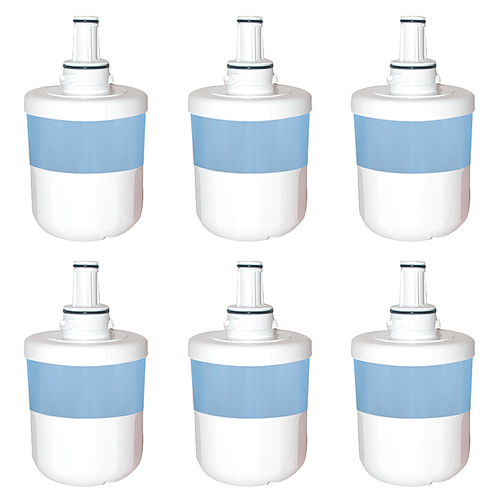 Replacement Water Filter For Samsung RSG257AARS/XAA Refrigerator Water Filter (6 Pack)