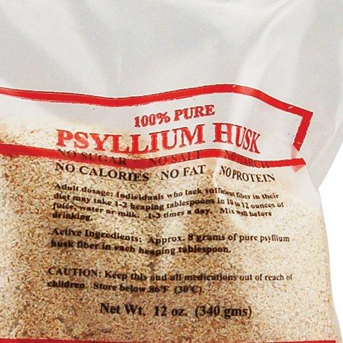 Health Plus Pure Psyllium Husk -- 12 oz
