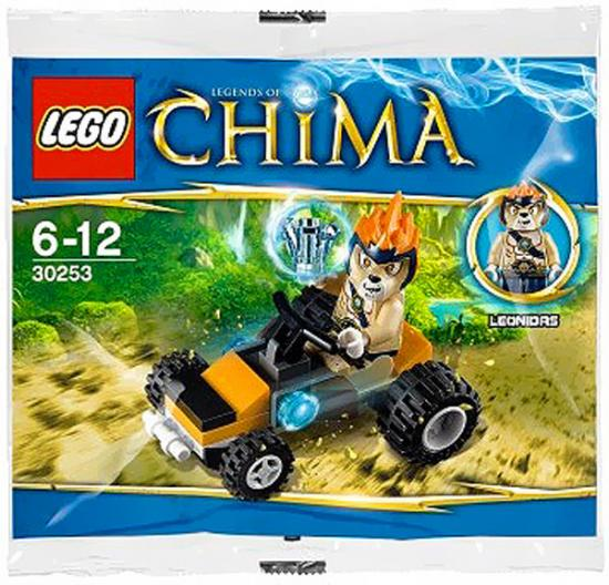 Legends of Chima Leonidas Jungle Dragster Mini Set LEGO 30253 [Bagged]