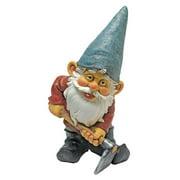 Design Toscano Bulldoze, the Garden Gnome Statue