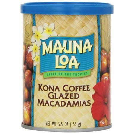 Mauna Loa Macadamias Kona Coffee Glazed 5 Ounce Container