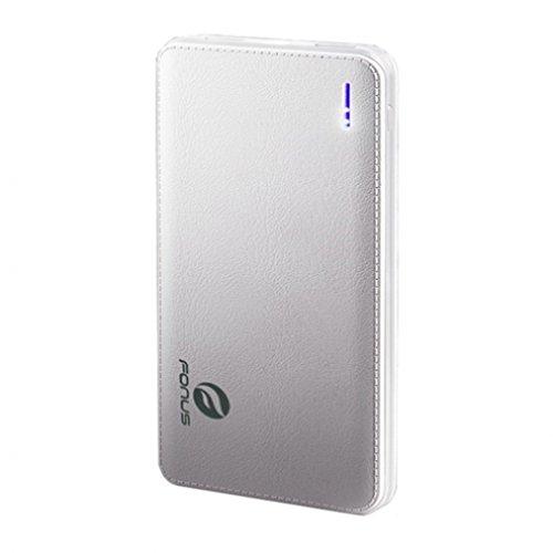 10000mAh Slim Power Bank Portable Charger with LED Light ...