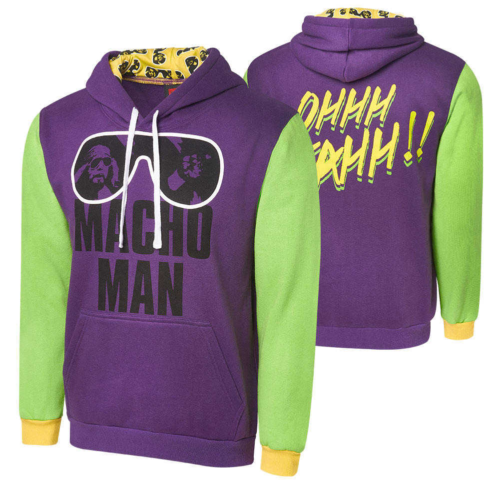 Official Wwe Authentic Macho Man Randy Savage Ohhh Yeahh Varsity
