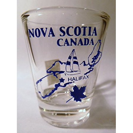 Nova Scotia Canada (7 in Series of 13) Shot Glass (2018 World Series Shot Glass)