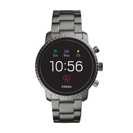 Fossil Gem - Fossil Gen 4 Smartwatch - Explorist HR with Stainless Steel