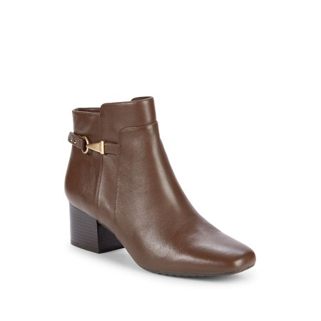 Faruka Leather Booties