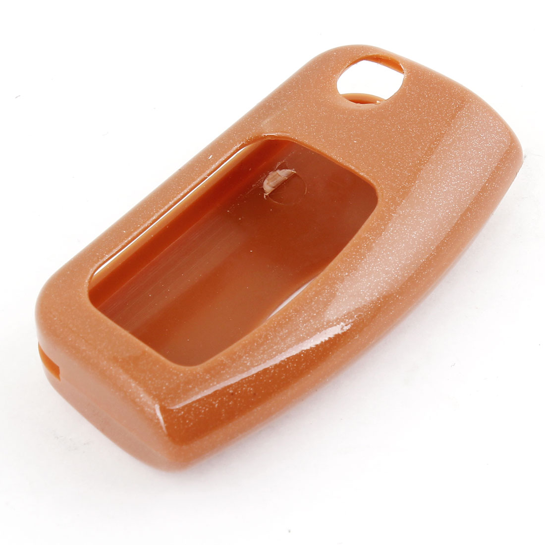 Unique Bargains Coffee Color Plastic Car Key Holder Case Cover Guard Shell for Fox