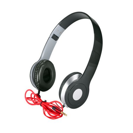 Wired Headphone 3.5mm Foldable Stereo Headset with Microphone for iPhone/All Android Smartphones/PC/Laptop/Tablet