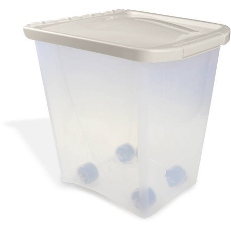 Van Ness Pet Food Storage Container, 25 (Dog Food Storage Dispenser)