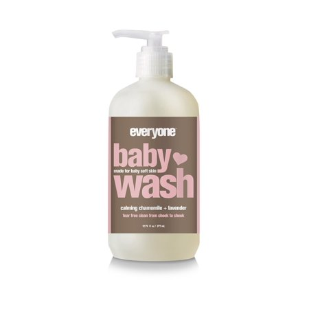 EO Everyone Baby Wash, Calming Chamomile Lavender, 12.75