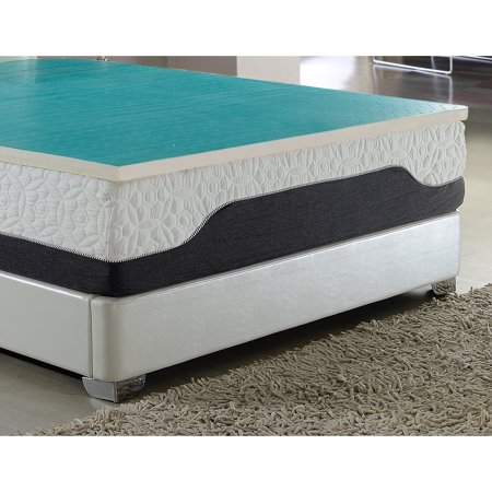 AC Pacific Gel Layer 2-inch Latex Mattress Topper