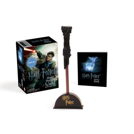 Harry Potter Wizard's Wand with Sticker Book: Lights - Harry Potter Pick Up Lines