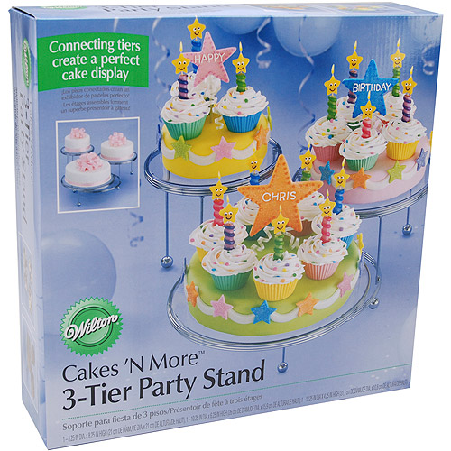 Wilton Cakes 'N More 3-Tier Party Cake Stand 307-859