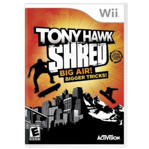 Nintendo Wii Tony Hawk Shred Big Air Bigger Tricks