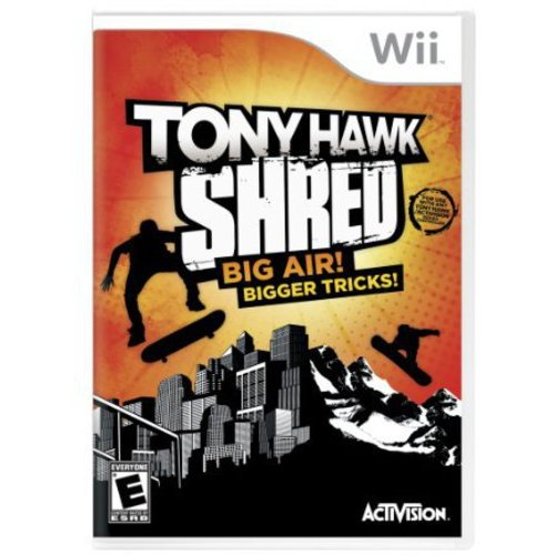 Nintendo Wii Tony Hawk Shred Big Air Bigger Tricks