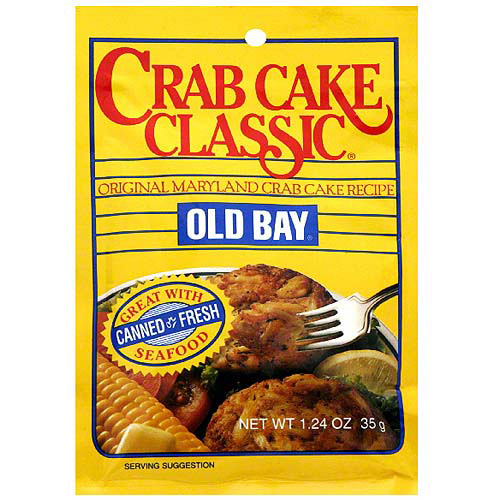 Old Bay Classic Crab Cake Mix, 1.24 oz (Pack of 12) by Generic