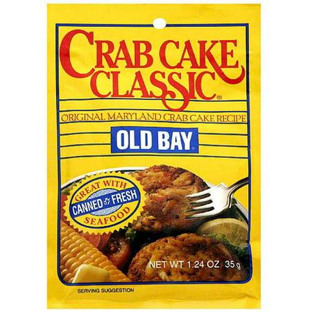 Old Bay Classic Crab Cake Mix, 1.24 oz (Pack of 12) - Walmart.com