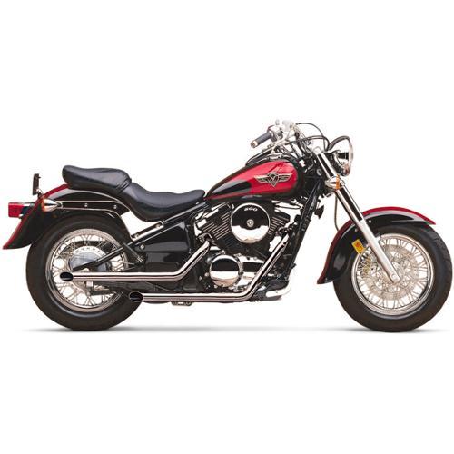"Cobra 2"" Drag Pipes Exhaust System Fits 95-05 Kawasaki Vulcan 800 VN800A"