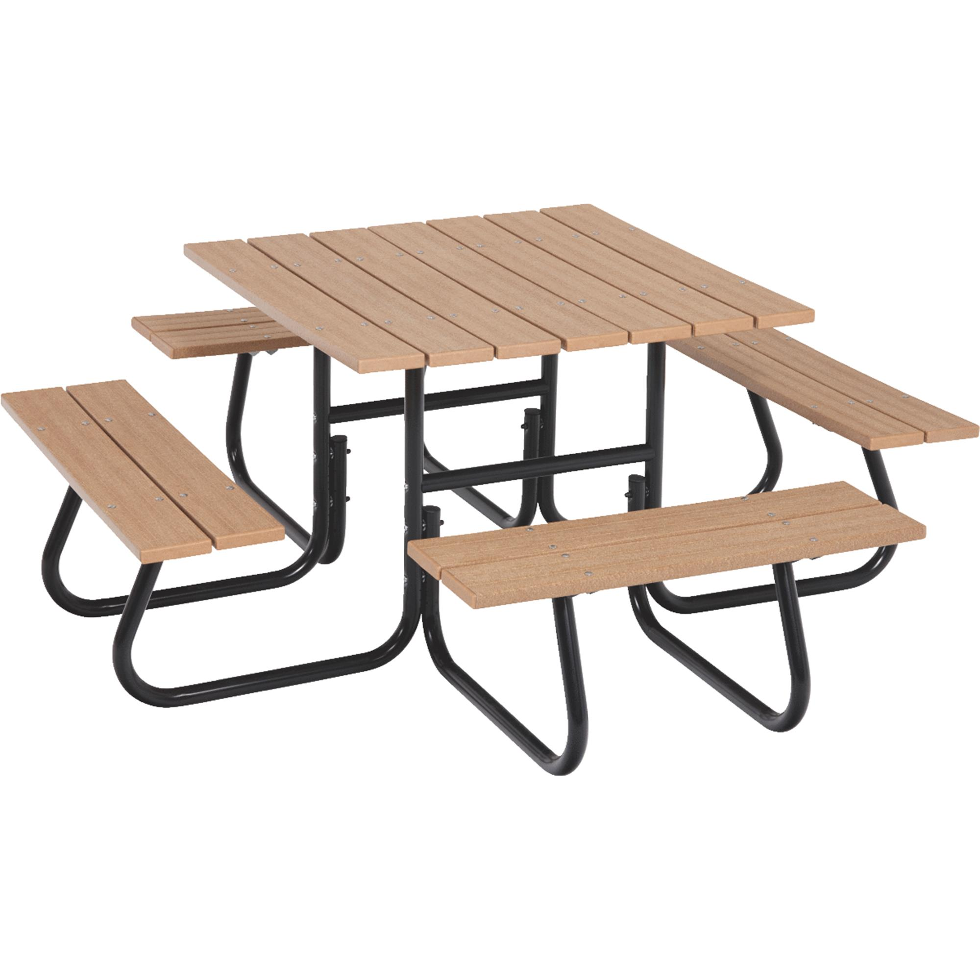 Jack Post 4 Sided Picnic Table   Frame Only
