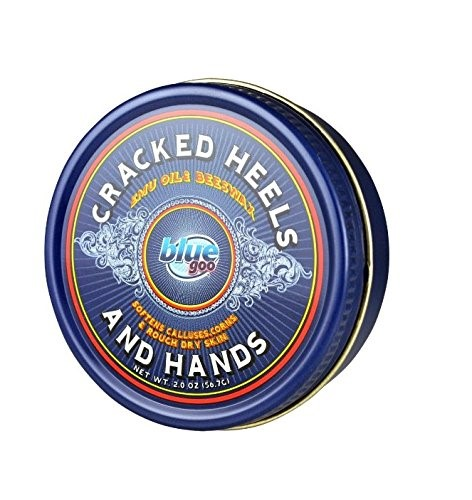 Blue Goo Cracked Heel and Hand Skin Softener, 2 Ounce