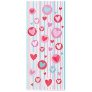 Simply Hearts Valentine's Day Cellophane Candy Bags, 20ct