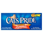 Cat`s Pride Drawstring Jumbo Litter Box Liners, 15 ct