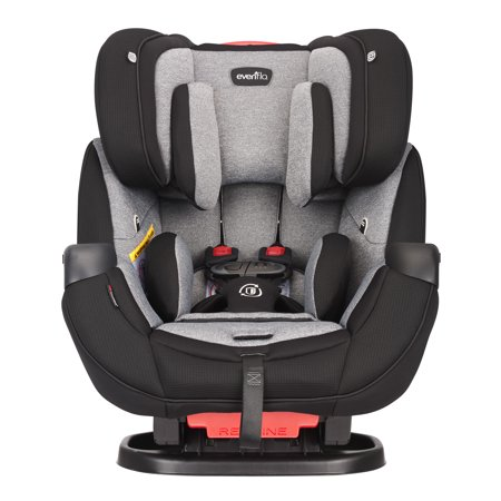 Evenflo Platinum Symphony DLX All-in-One Car Seat, Ashland Gray